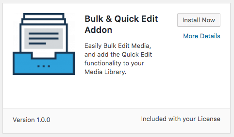 Install Addon