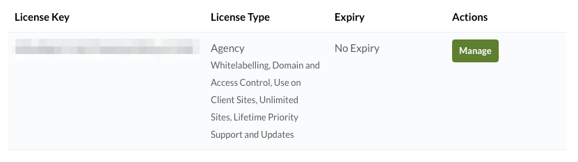 Media Library Organizer Pro: Account: Licenses